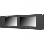 จอมอนิเตอร์ Lilliput RM-7024-VD Dual 7 นิ้ว Rackmount Monitors